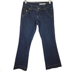 DKNY bootcut straight leg denim jean size 9 junior